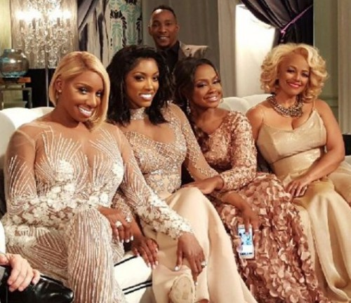 RHOA Reunion left couch