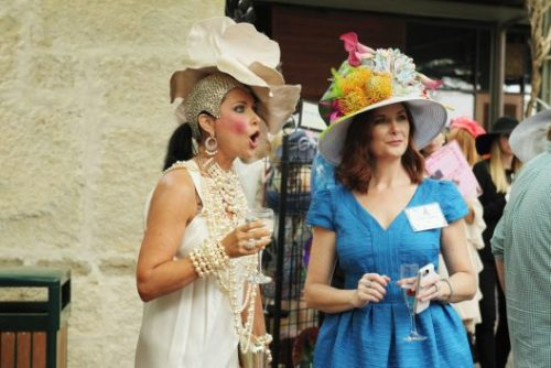 THE REAL HOUSEWIVES OF DALLAS -- Pictured: (l-r) LeeAnn Locken, Cynthia Smoot -- (Photo by: Bill Matlock/Bravo)