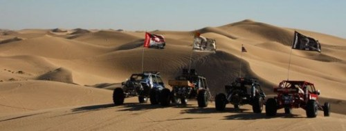Dune Buggys in Glamis, California