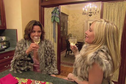 RHONY Sonja and Luann