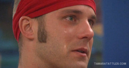 BB18 Paulie crying
