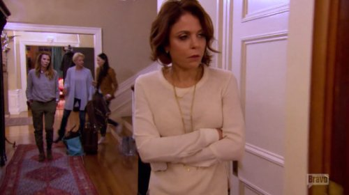 RHONY Bethenny angry