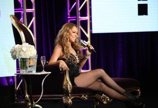 """NBCUNIVERSAL EVENTS -- NBCUniversal Summer Press Tour, August 3, 2016 -- E! Entertainment's """"Mariah's World"""" Panel -- Pictured: Mariah Carey -- (Photo by: Evans Vestal Ward/NBCUniversal)"""