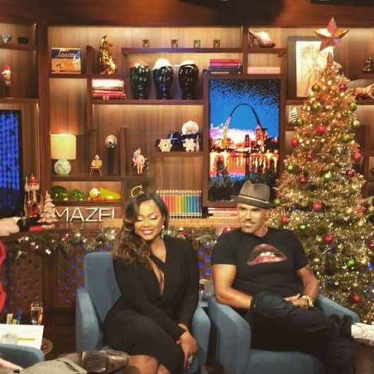 WWHL With Phaedra Parks and Shemar Moore