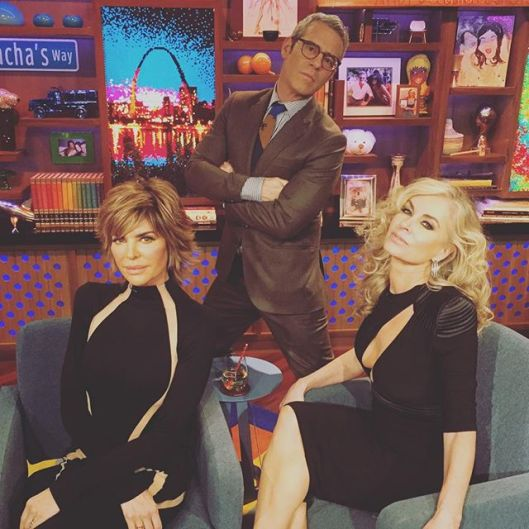WWHL With Eileen Davidson and Lisa Rinna