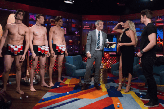 WWHL With Stassi Schroeder and Josh Henderson