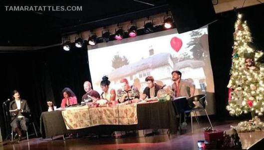 Greg Bennett And Others Do Table Read For Charity December: Berkshires County