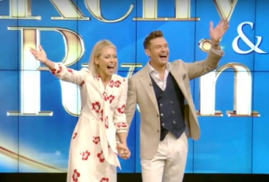 Ryan Seacrest Joins Kelly Ripa As New Host of Live! With Kelly & Ryan