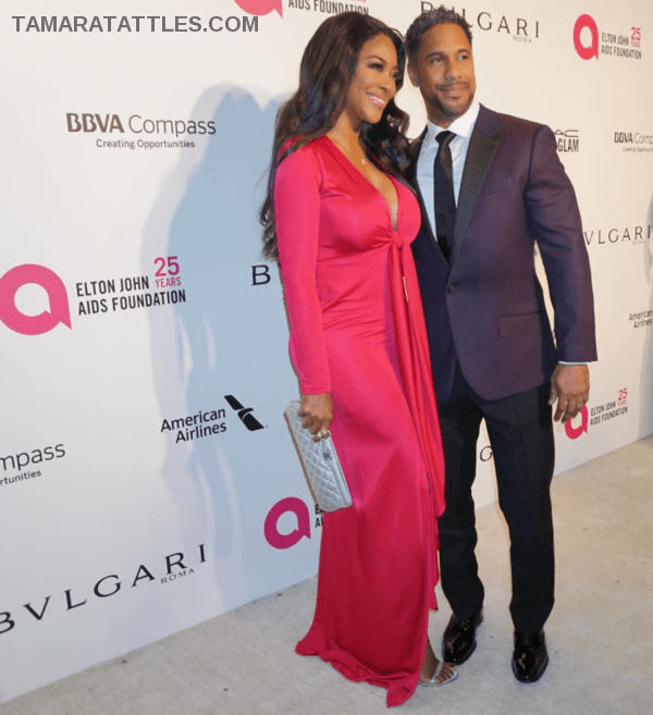 Kenya Moore and Marc Daly