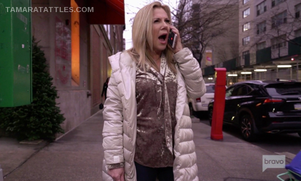 Ramona Singer screaming at Bethenny Frankel on the phone