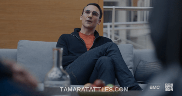 Killing Eve Recap Random Guy being interrogated