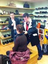 Magia in fraganti: donde menos te la esperas... ¡en la zapatería!