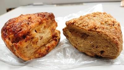 黒糖くるみスコーン&ほうじ茶スコーン|La boulangerie Quignon(キィニョン)
