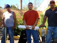 Paul Tamate's Landscape Design & Construction Crew