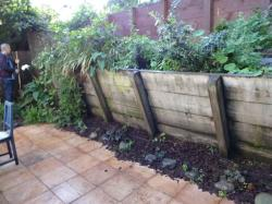 Tamate Landscaping - Old Retaining Wall