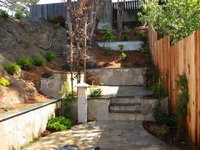 Terracing Hilly Backyards