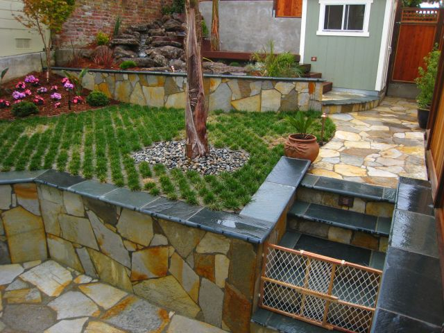 san francisco retaining walls