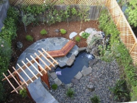 Japanese Garden example with several features