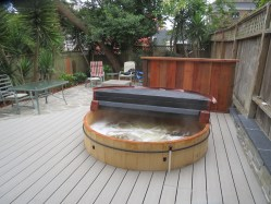 Noe Valley, Teak Ofuro, Japanese Style Hot Tub