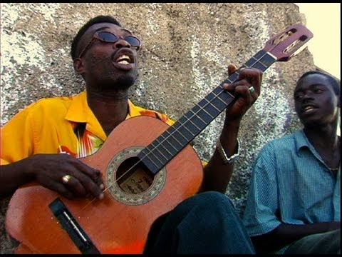 【驚愕】ボロボロの弦1本のギターを弾くジャマイカ人