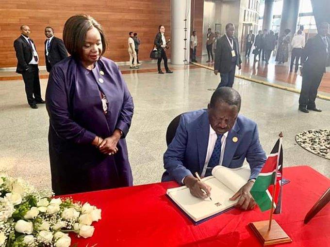 H. E Raila Odinga will be visiting the Moi family