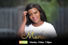 VENESSA OF MARIA ON CITIZEN TV
