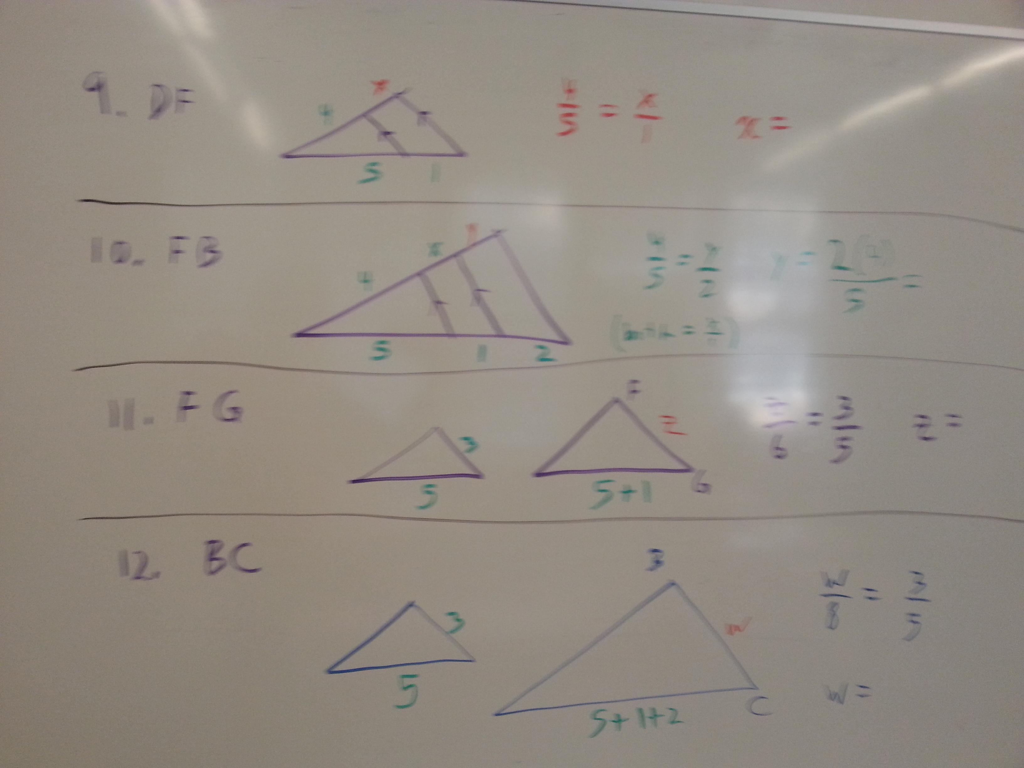 Gebhard Curt Geometry Unit 6 Similarity
