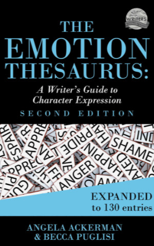Books for Writers - The Emotion Thesaurus by Angela Ackerman and Becca Puglisi