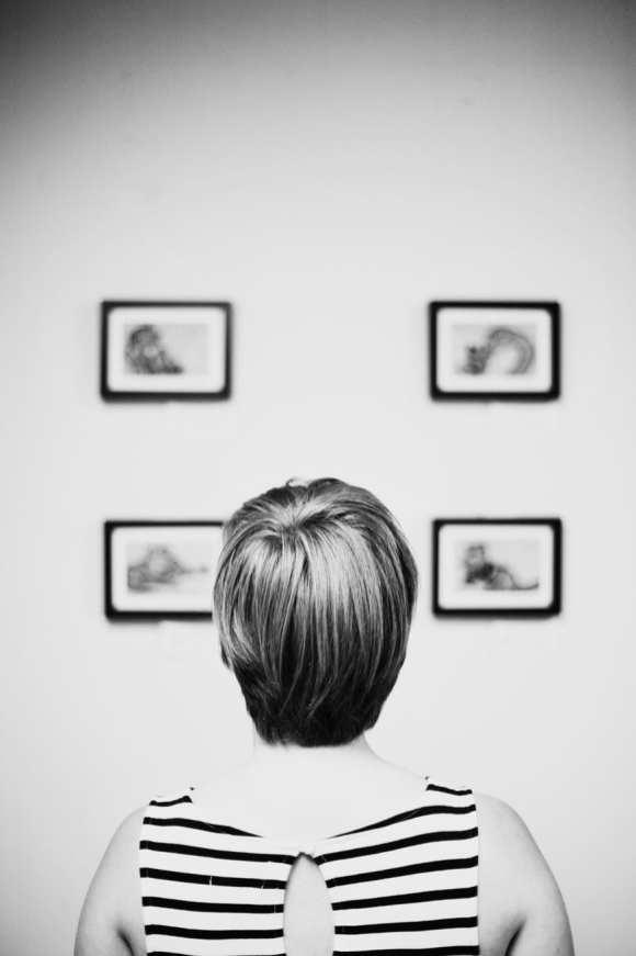 Viewing Framed Digital Prints