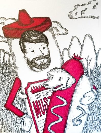 Hot rob and hot dog