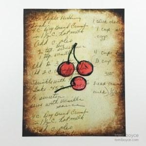 Cherries, Kitchen Series