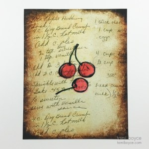 Cherries, Kitchen Series