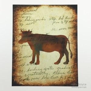 Cow, Kitchen Series