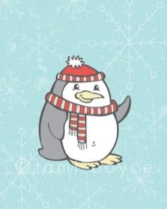 Christmas-Penguin