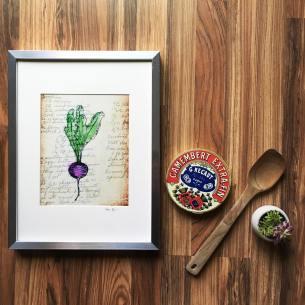 veg print
