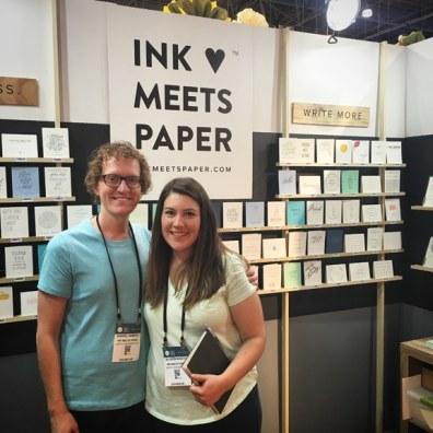 Ink Meets Paper