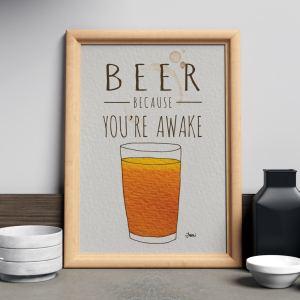 beer you're awake drink series
