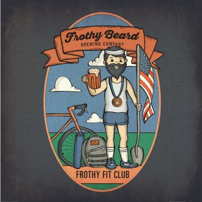 Frothy Fit Club Poster