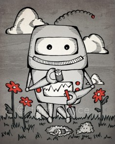 Robot Love, Trying to Plant a Friend