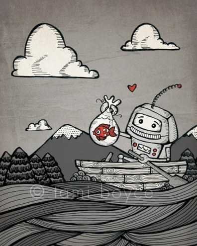 Robot Love, Together We'll See the World