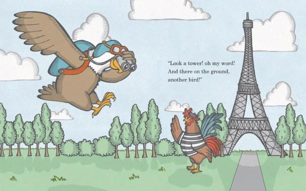 Billy Visits Paris Interior Spread 10-11