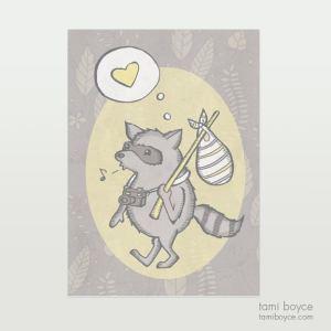 Raccoon Adventurer