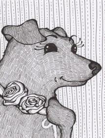 Inked Pet portrait