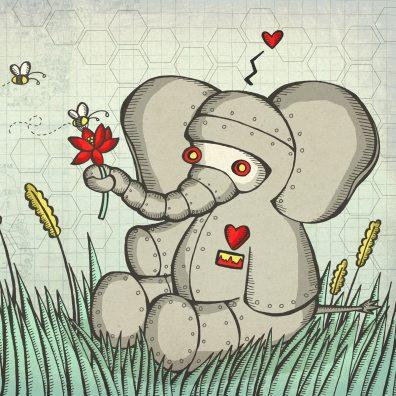 Robot Elephant