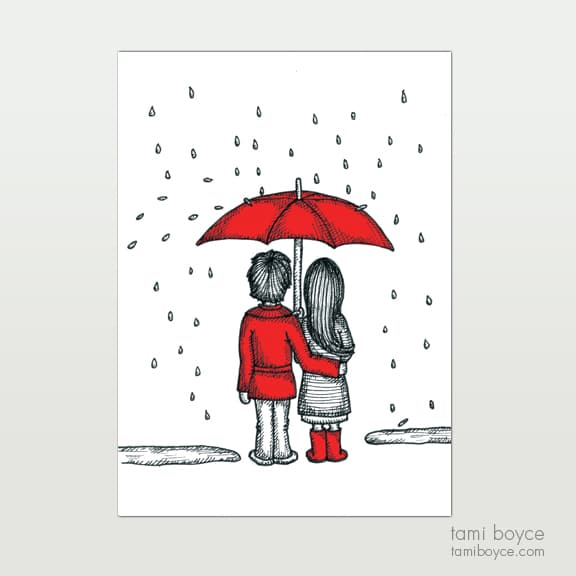 Under the Umbrella, Love Doodle