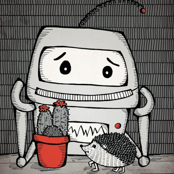 Robot and Hedgehog