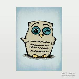 Owl, Winking