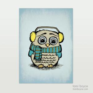 Owl, Winter