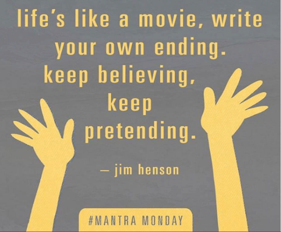 Jim Henson life is like a movie quote
