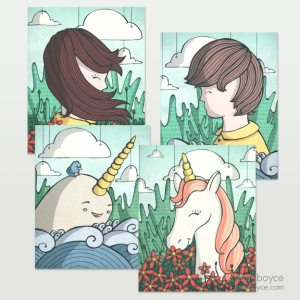 scenic whimsy 4 pack